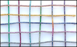 Color lines for tennis bracelet